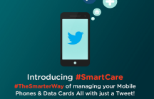 Rcom introduces smartcare, customers can now manage and customize their account on twitter