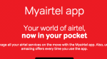 "Airtel now offers internet and talktime sharing through ""My Airtel app"""