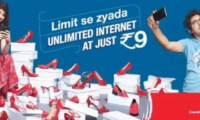 Aircel launches 'Unlimited Internet at 9' daily data pack