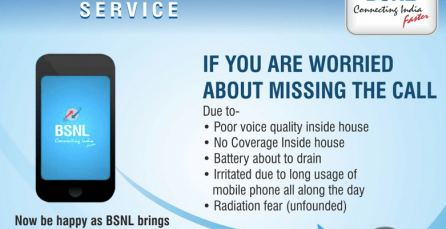 "BSNL launches ""Free to Home"" call forwarding from mobile to BSNL landline"