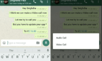 WhatsApp Video Calling feature goes live on Android beta (v2.16.80)