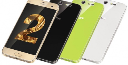 Lyf Earth 2 goes official with 5-inch 1080p display, retina scanner and 4G VoLTE