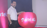 Airtel launches 4G services in Kharagpur, using dual spectrum bands of 2300 MHz (TD LTE) and 1800 MHz (FD LTE)