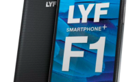 LYF F1 launched with 5.5-inch 1080p display, 4G VoLTE and 3GB of RAM for Rs. 13,399