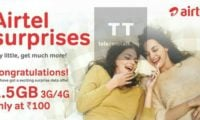 Exclusive: Airtel starts offering 1.5 GB 3G/4G data at Rs.100 for select postpaid subscribers
