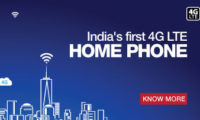 Reliance communications launches industry's first 4G VoLTE enabled fixed wireless phone