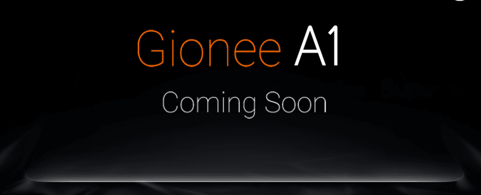 Gionee A1_Banner