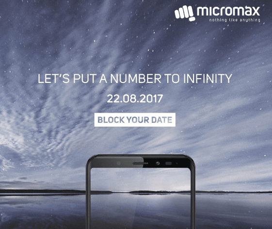 Micromax Canvas infinity with 5.7 inch screen, priced INR 9999 announced