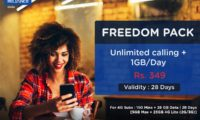 RCom Comes Up With a Rs. 349 Plan Providing 1GB Data Per Day and Unlimited* Voice Calls for 28 Days