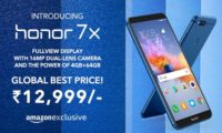 Honor 7X With Kirin 659 SoC, 5.93-inch 18:9 Display Goes Official in India; Prices Start at Rs 12,999