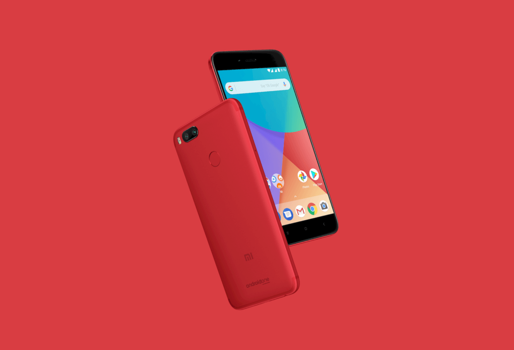 Xiaomi Rolled Out Mi A1 Special Edition Red Colour Variant In India
