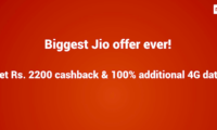 Reliance Jio to Offer Instant Rs 2,200 Cashback on Xiaomi Redmi Note 5 and Redmi Note 5 Pro Smartphones