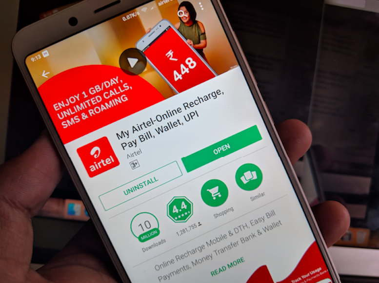 Airtel's Rs. 995 prepaid plan offers unlimited calls for 180 days