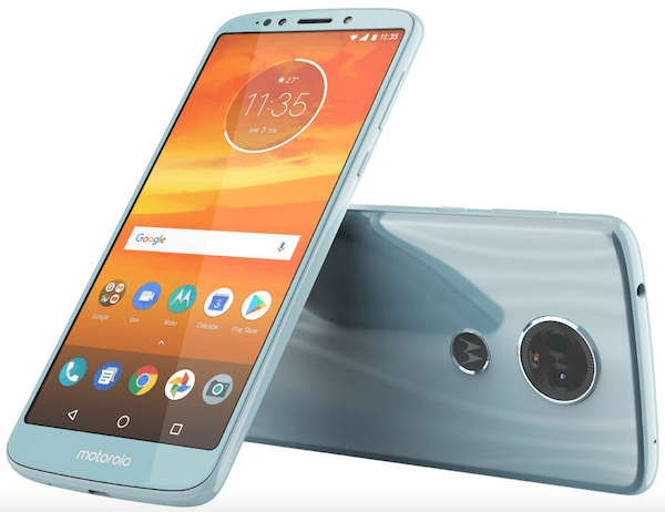 Moto E5 Plus render leaked, reveals 18:9 display, rear fingerprint sensor