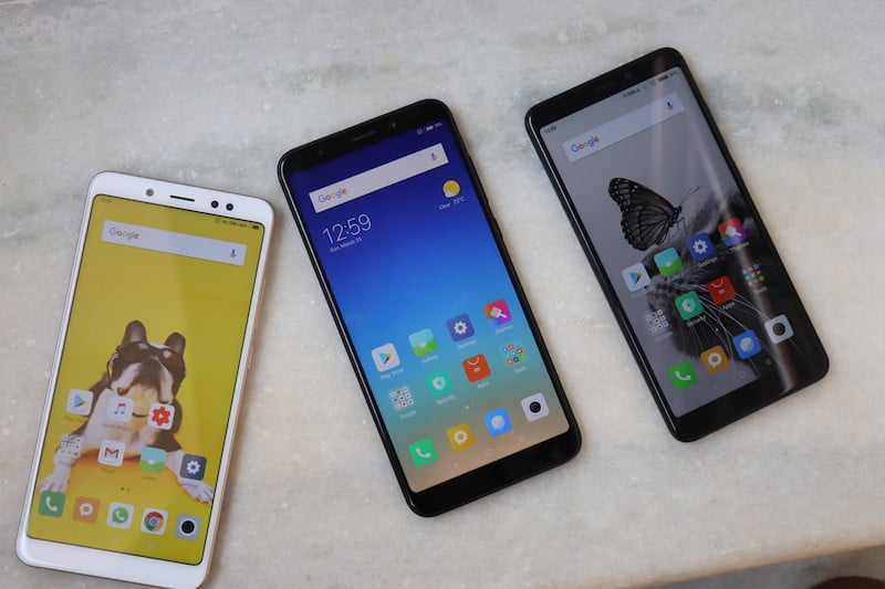 Xiaomi Redmi Note 5 and Note 5 Pro