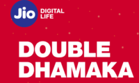 Reliance Jio Brings Per GB Cost Down to Lowest of Rs 1.77 With Double Dhamaka Offer