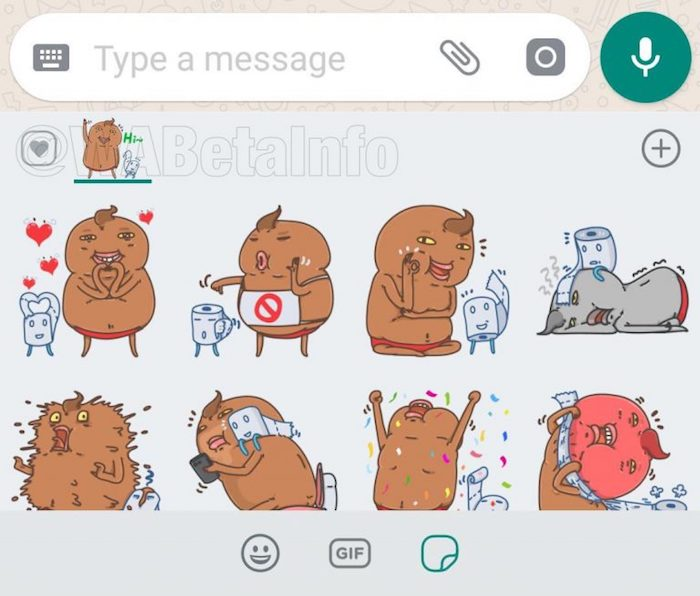 Image result for WhatsApp for Android Spotted With Sticker Reactions for Happy, Sad, Love, and Wow