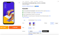 Asus Zenfone 5Z Up for Sale in India at Rs 29,999 Along With Rs 3,000 Discount Offer