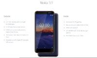 Nokia 3.1 Makes its Way to the Indian Market, Priced at Rs 10,499