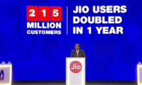 Reliance Jio Closes Gap With Vodafone and Idea Cellular by Crossing 215 Million User Base