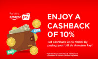 ACT Fibernet and Amazon Pay Rolls Out 10% Cashback Offer on Broadband Bill Payments