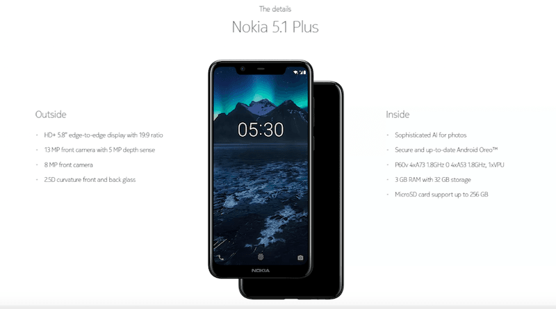 Nokia 5.1 Plus Price in India to Be Revealed on September 24