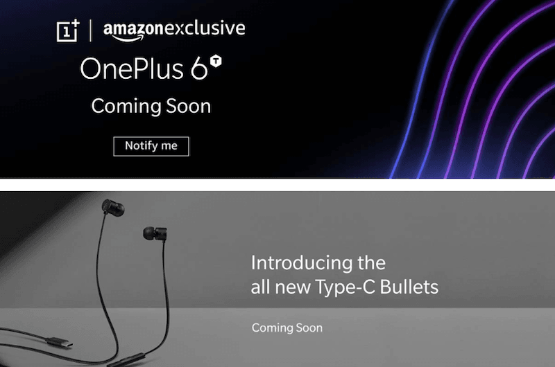 OnePlus 6T to be Amazon exclusive in India