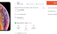 Paytm Mall Starts Offering Additional Exchange Bonus of Rs 7,000 on Apple iPhone XS and XS Max