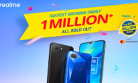 Realme Sold Over a Million Smartphones in Four Days