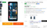 Google Pixel 2 XL is Available at Rs 40,999 on Flipkart as Part of Mobile Bonanza Sale