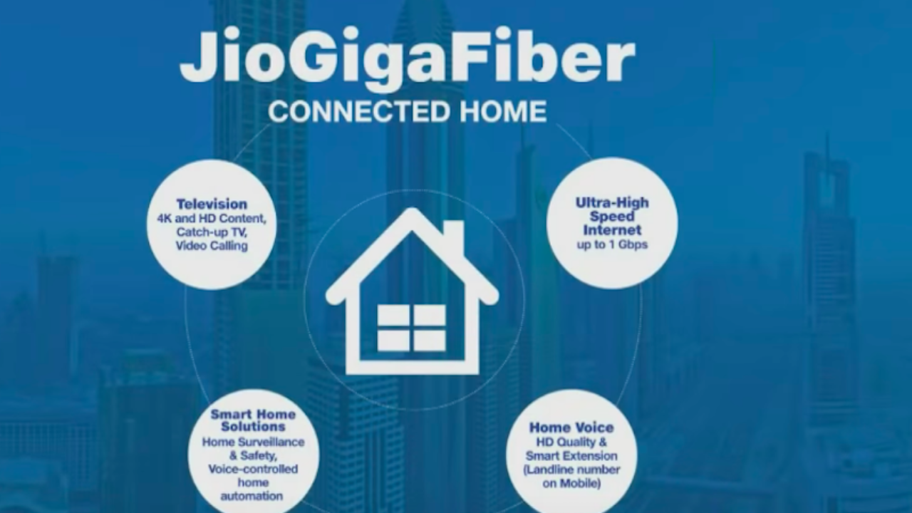 Reliance Jio GigaFiber Services to Commence in March 2019